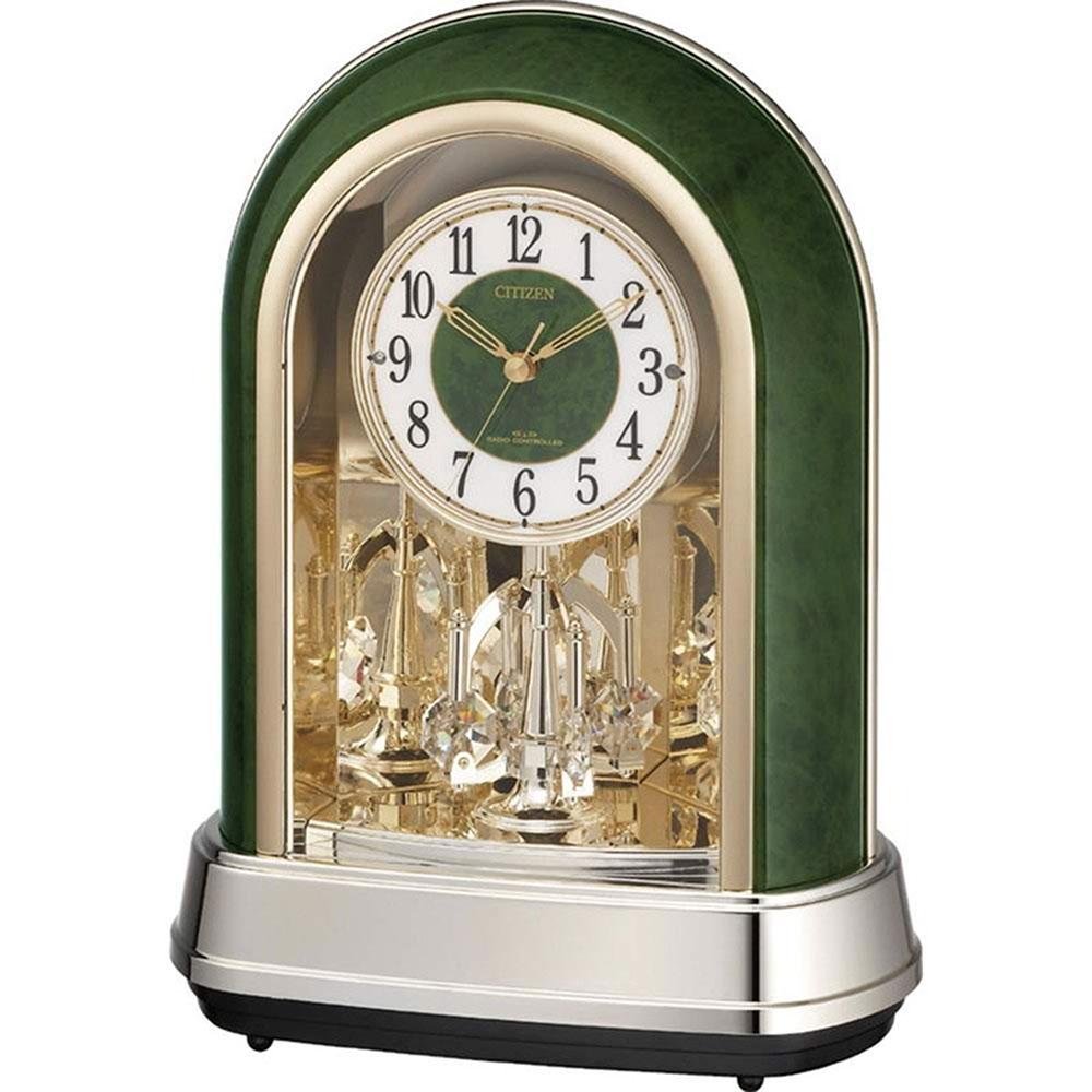 記念品 名入れ 名入れプレート付き 電波_置き時計 パルドリームR427 名入れプレート付 き 送料無料 新築祝い 竣工記念 開店祝い 開業祝い プレゼント