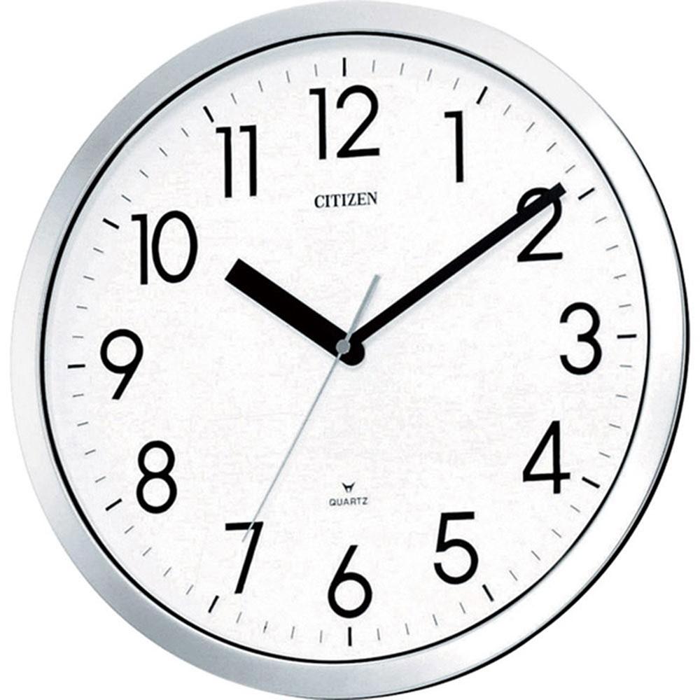 名入れ無料 プレゼント 電波時計 掛け時計 | リズム時計 名入れプレート付き スペイシーM522 | 電波掛け時計 NAI4MG522-050 | 掛け時計 | お祝い 竣工 設立 新生活 記念品 プレゼント