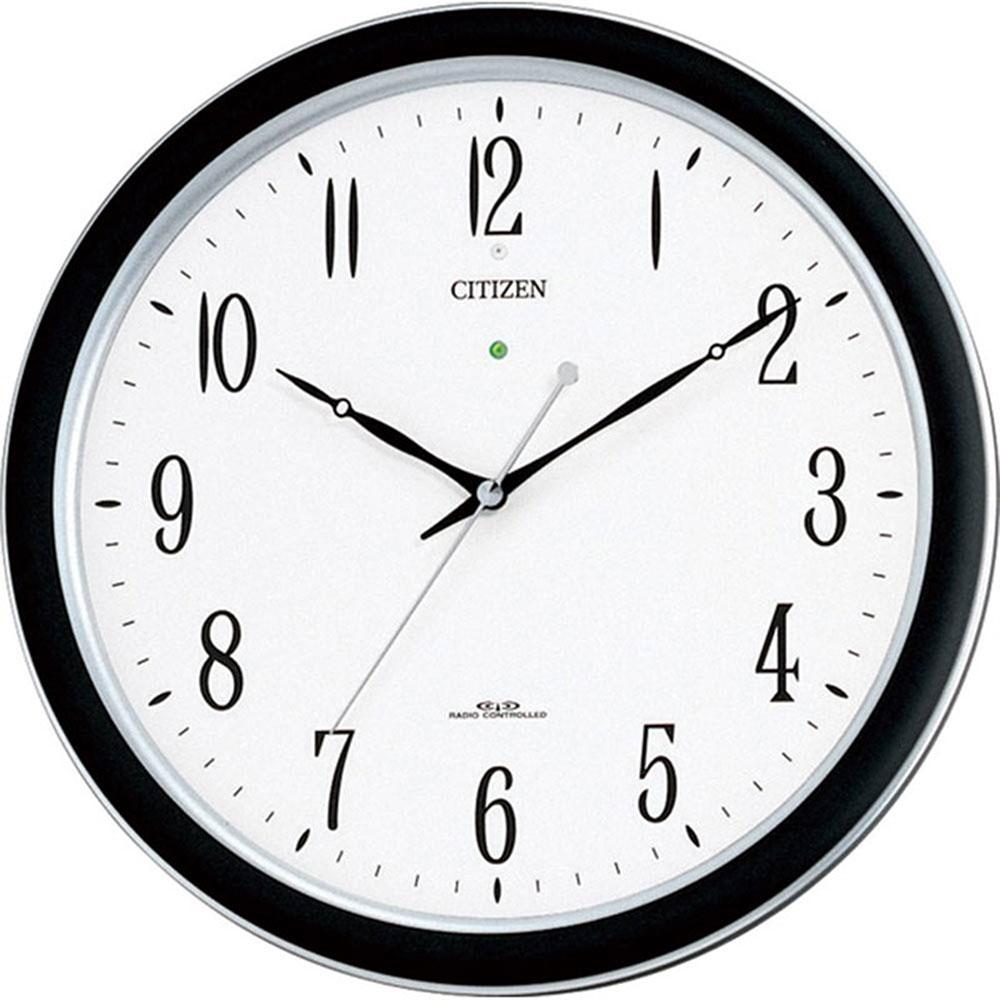 名入れプレート付き 電波_掛け時計 ネムリーナM691F 名入れプレート付 き 新築祝い 竣工記念 開店祝い 開業祝い プレゼント