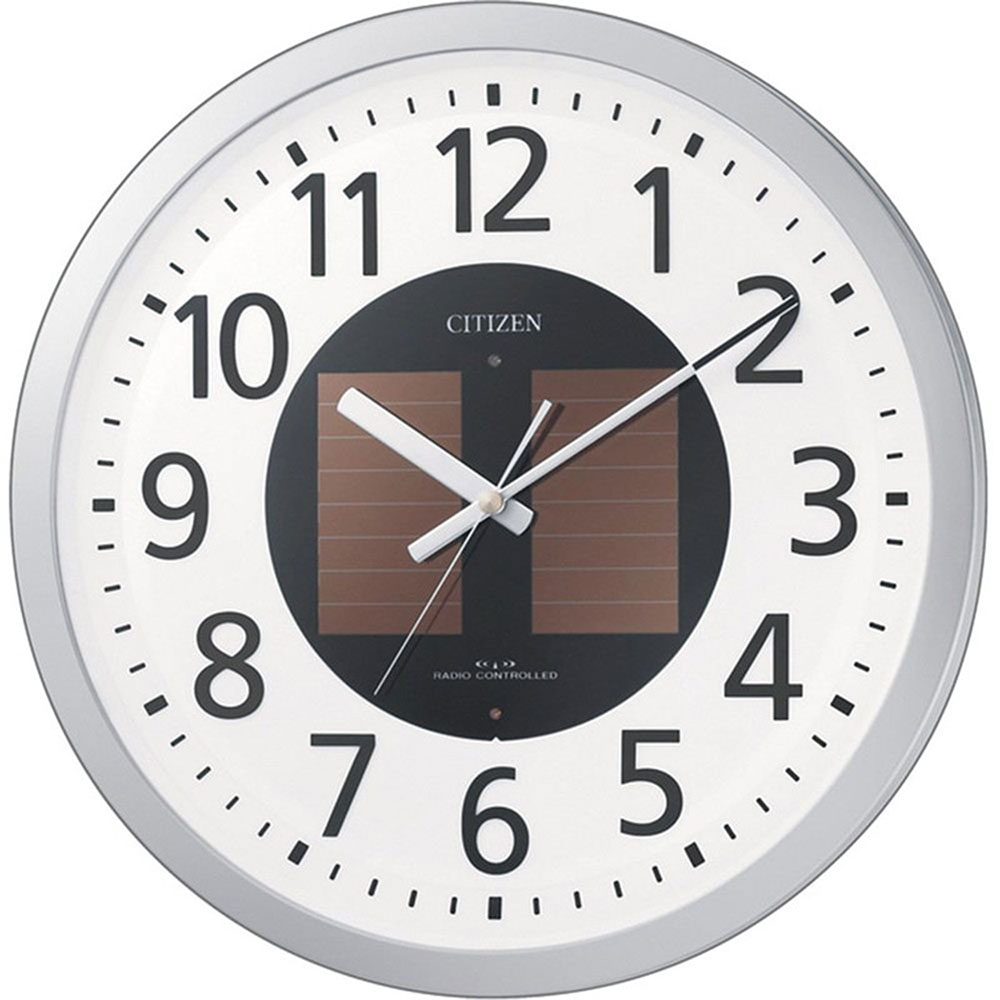 記念品 名入れ 名入れプレート付き 電波_掛け時計 エコライフM815 名入れプレート付 き 送料無料 新築祝い 竣工記念 開店祝い 開業祝い プレゼント