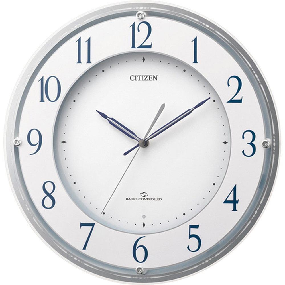 名入れプレート付き 電波_掛け時計 スリーウェイブM823 名入れプレート付 き 新築祝い 竣工記念 開店祝い 開業祝い プレゼント