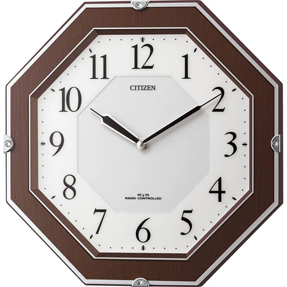 名入れプレート付き 電波_掛け時計 サイレントソーラーM826 名入れプレート付 き 新築祝い 竣工記念 開店祝い 開業祝い プレゼント