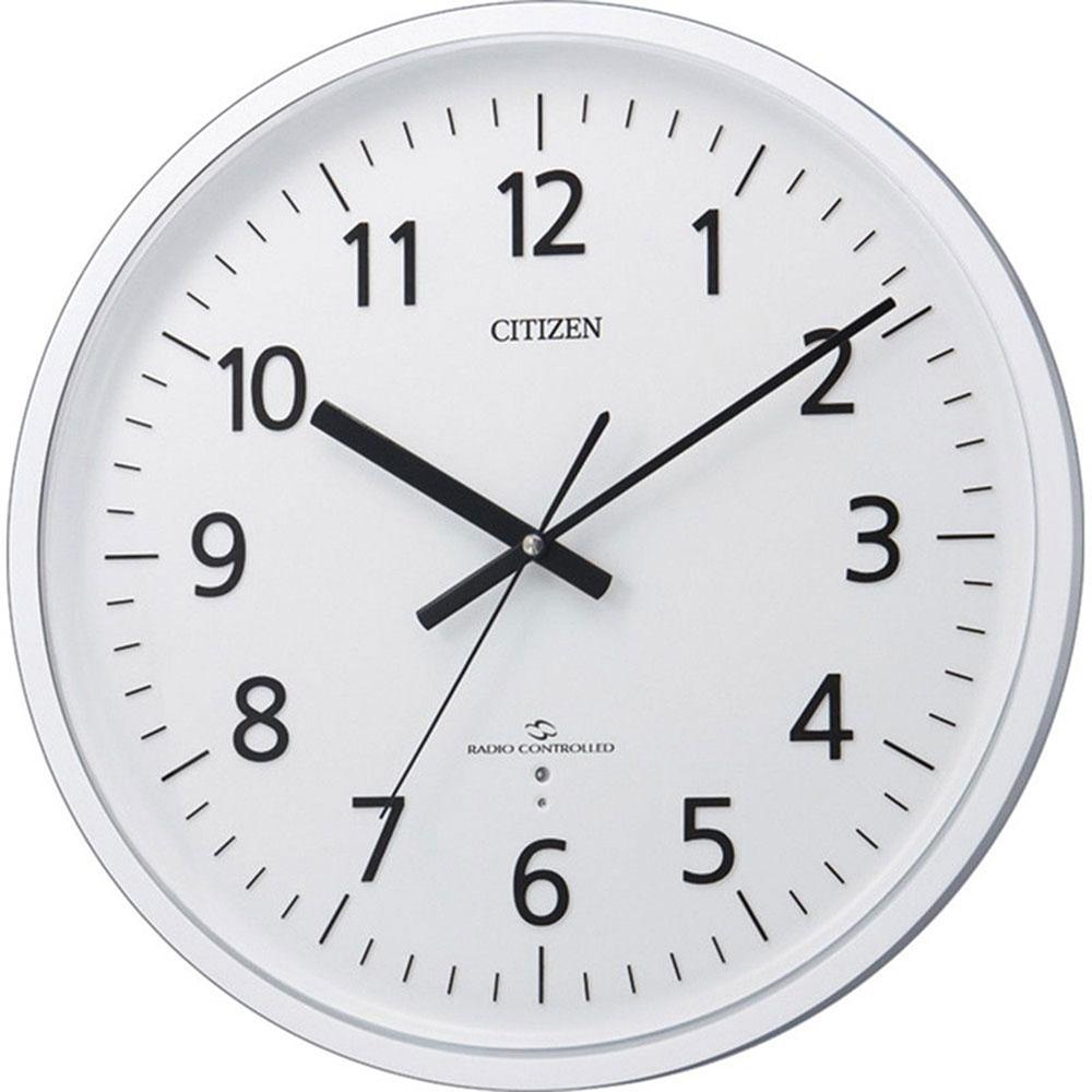 名入れプレート付き 電波_掛け時計 スリーウェイブM827 名入れプレート付 き 新築祝い 竣工記念 開店祝い 開業祝い プレゼント