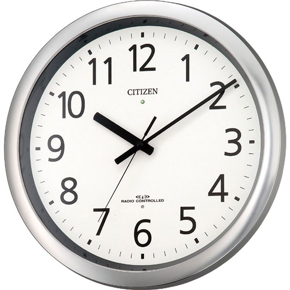 名入れプレート付き 電波_掛け時計 パルウェーブM437 名入れプレート付 き 新築祝い 竣工記念 開店祝い 開業祝い プレゼント