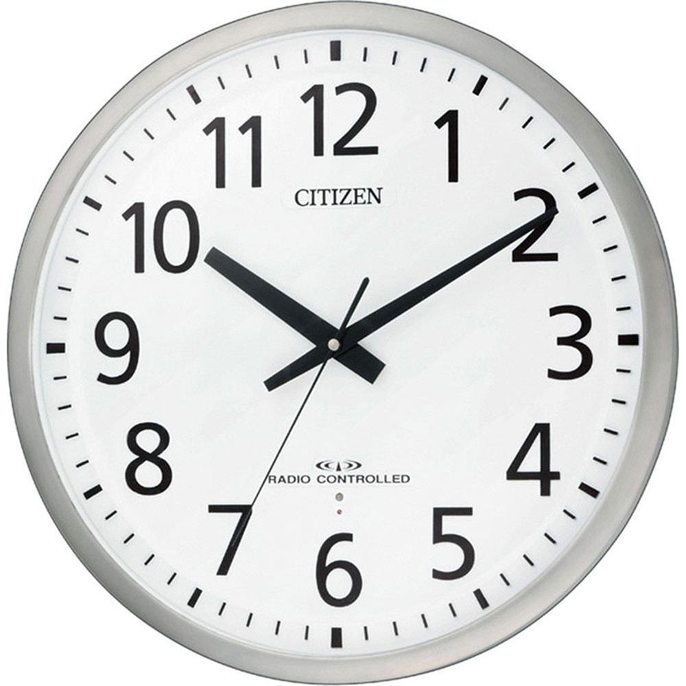 記念品 名入れ 名入れプレート付き 電波_掛け時計 スペイシーM463 名入れプレート付 き 送料無料 新築祝い 竣工記念 開店祝い 開業祝い プレゼント