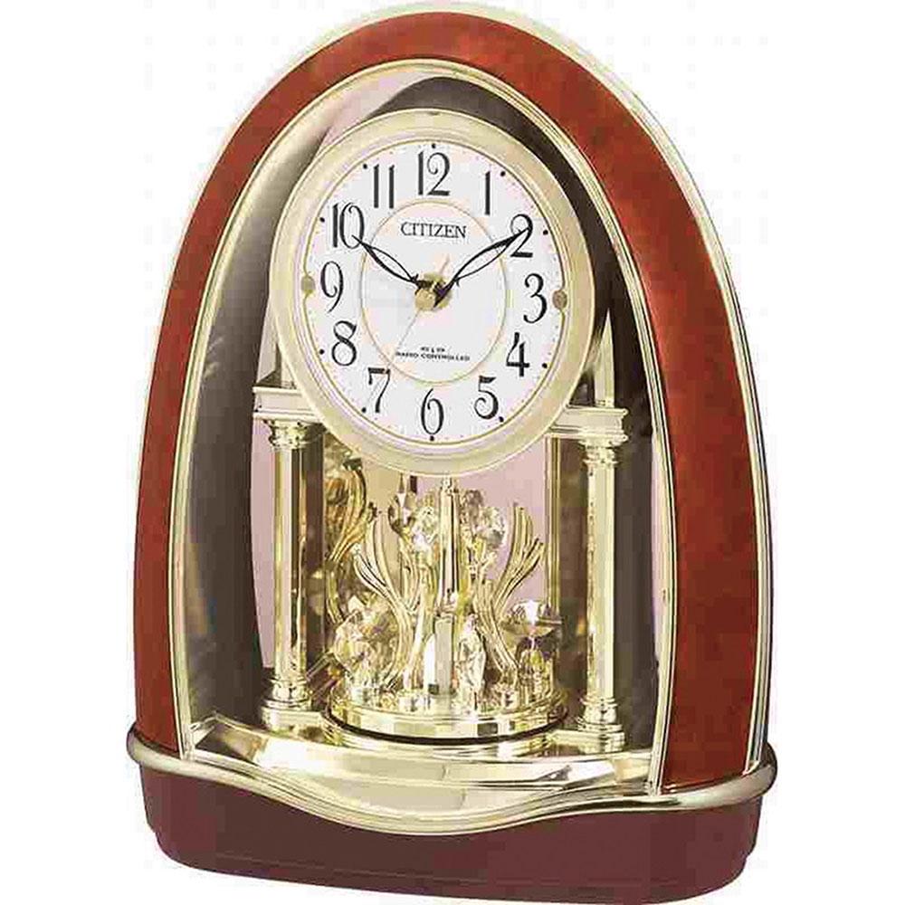 リズム時計 電波置き時計 シチズン パルドリームR414 新築祝い 竣工記念 開店祝い 開業祝い プレゼント