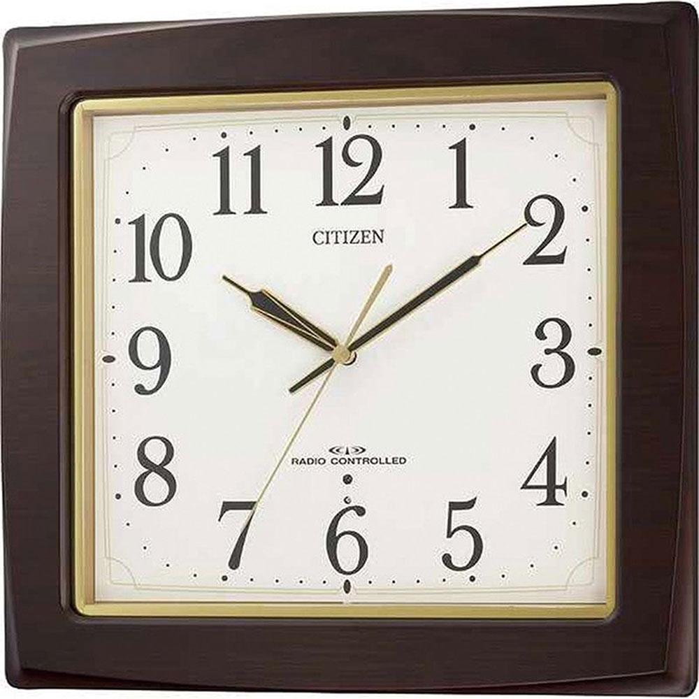 名入れ対応可 電波時計 掛け時計 | リズム時計 ネムリーナアスカ | 電波掛け時計 8MY455-006 | 掛け時計 | お祝い 竣工 設立 新生活 記念品 プレゼント