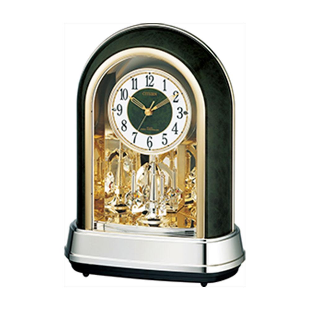 名入れ対応可 インテリアクロック | リズム時計 パルドリームR427 | 電波置き時計 4RN427-005 | 置き時計 | お祝い 竣工 設立 新生活 記念品 プレゼント