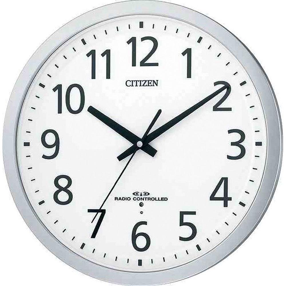 名入れ対応可 電波時計 掛け時計 | リズム時計 スペイシーM462 | 電波掛け時計 8MY462-019 | 掛け時計 | お祝い 竣工 設立 新生活 記念品 プレゼント
