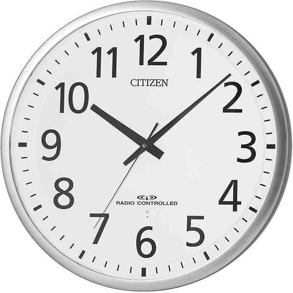 リズム時計 電波掛け時計 シチズン スペイシーM465 新築祝い 竣工記念 開店祝い 開業祝い プレゼント