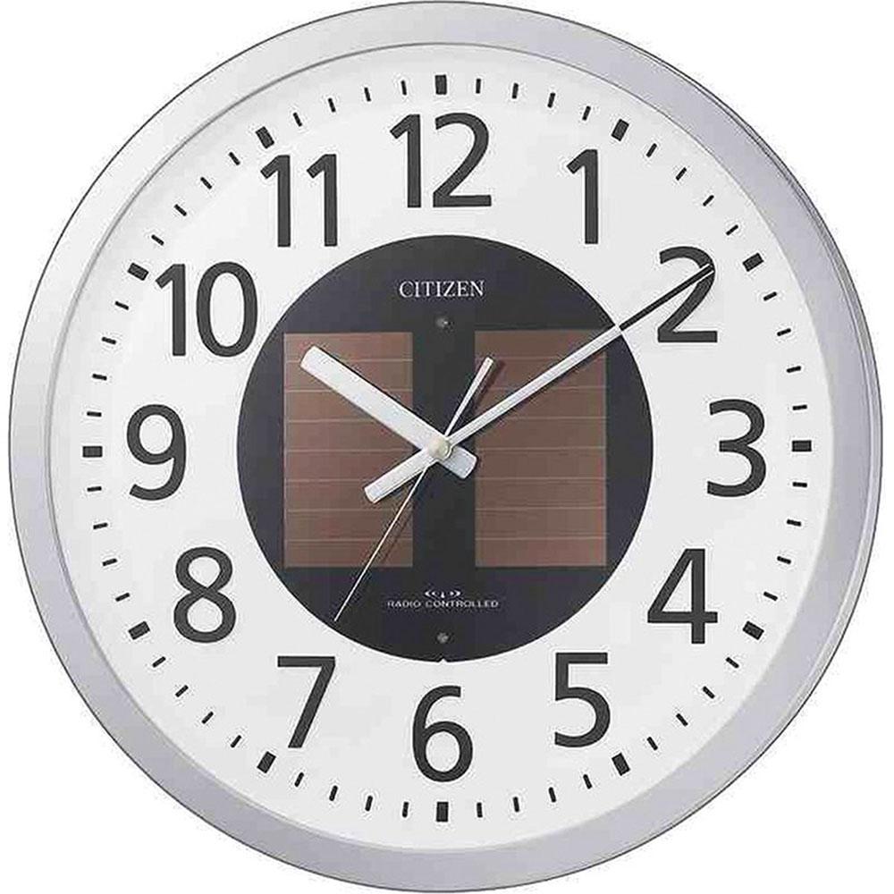 名入れ対応可 電波時計 掛け時計 | リズム時計 エコライフM815 | 電波掛け時計 4MY815-019 | 掛け時計 | お祝い 竣工 設立 新生活 記念品 プレゼント