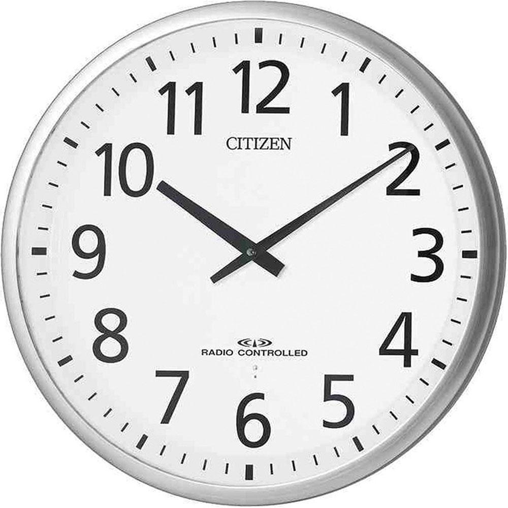 名入れ対応可 電波時計 掛け時計 | リズム時計 スリーウェイブM821 | 電波掛け時計 4MY821-019 | 掛け時計 | お祝い 竣工 設立 新生活 記念品 プレゼント