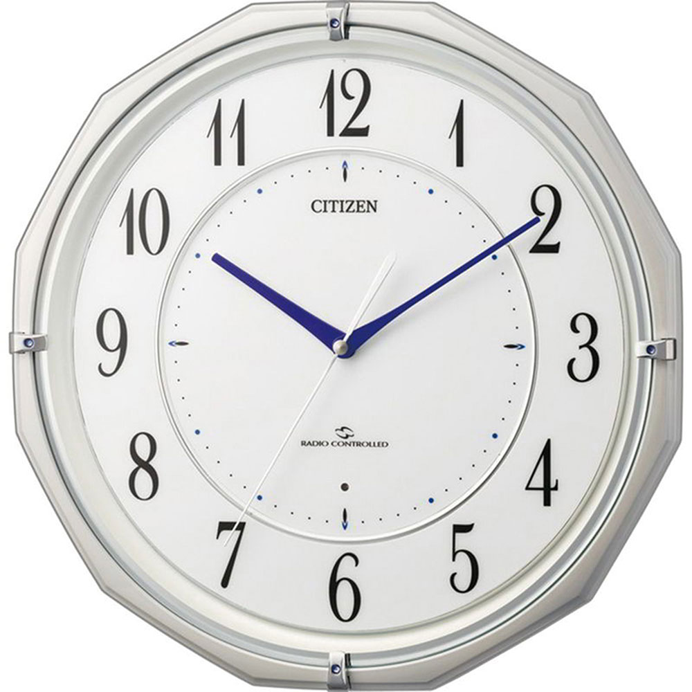 リズム時計 電波掛け時計 シチズン スリーウェイブM822 新築祝い 竣工記念 開店祝い 開業祝い プレゼント