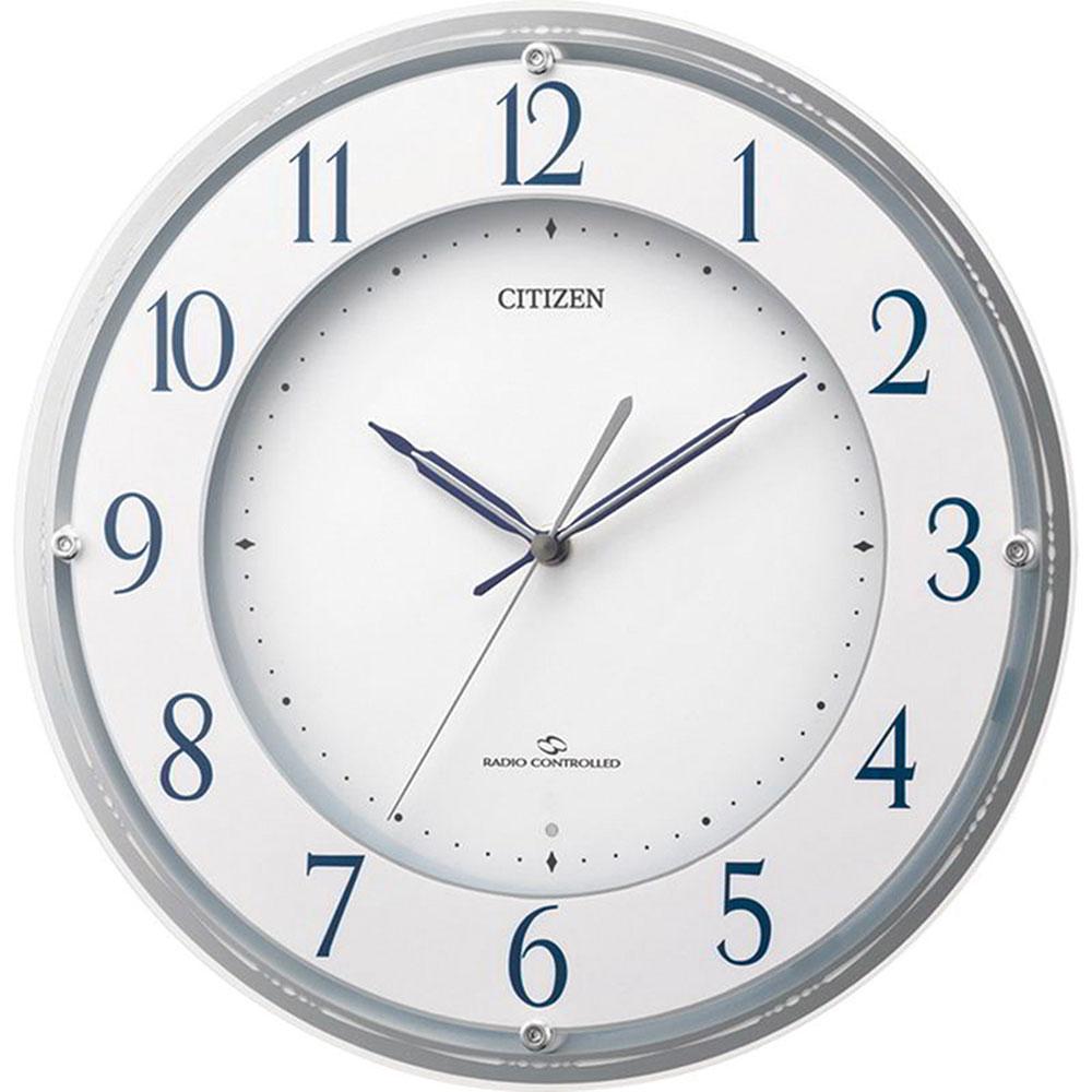 リズム時計 電波掛け時計 シチズン スリーウェイブM823 新築祝い 竣工記念 開店祝い 開業祝い プレゼント
