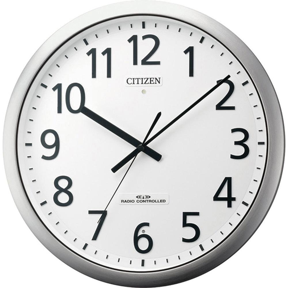 リズム時計 電波掛け時計 シチズン パルフィス484 新築祝い 竣工記念 開店祝い 開業祝い プレゼント