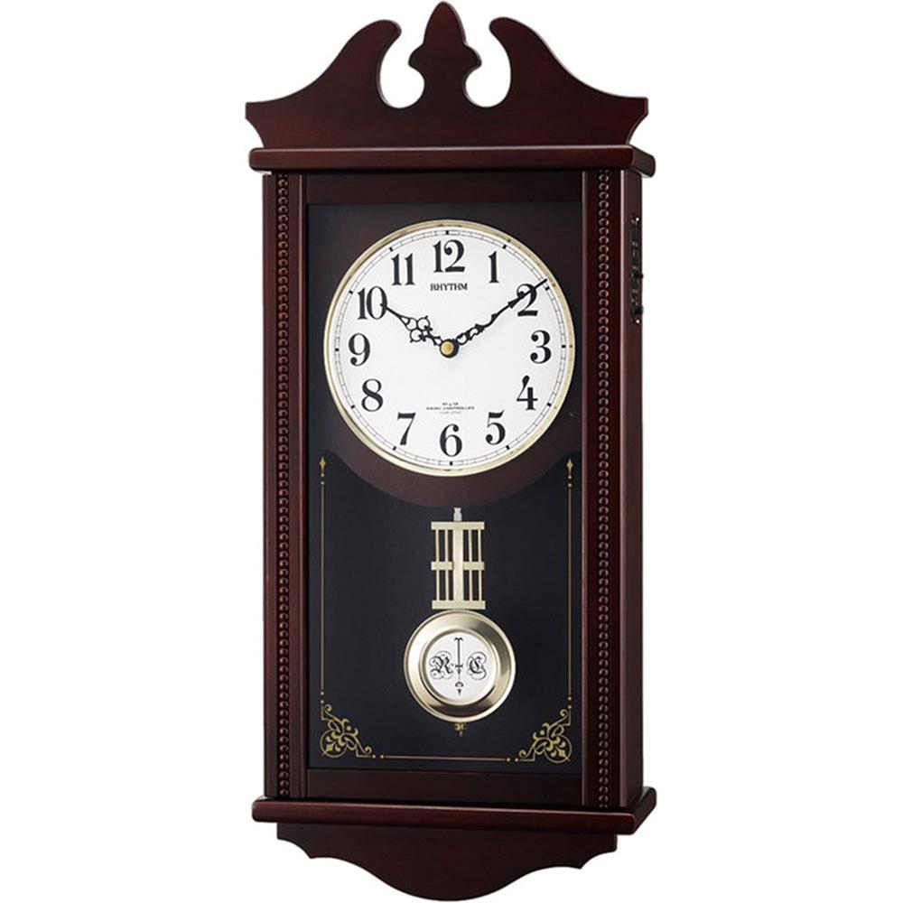 リズム時計 電波振子時計 シチズン ペデルセンR 新築祝い 竣工記念 開店祝い 開業祝い プレゼント