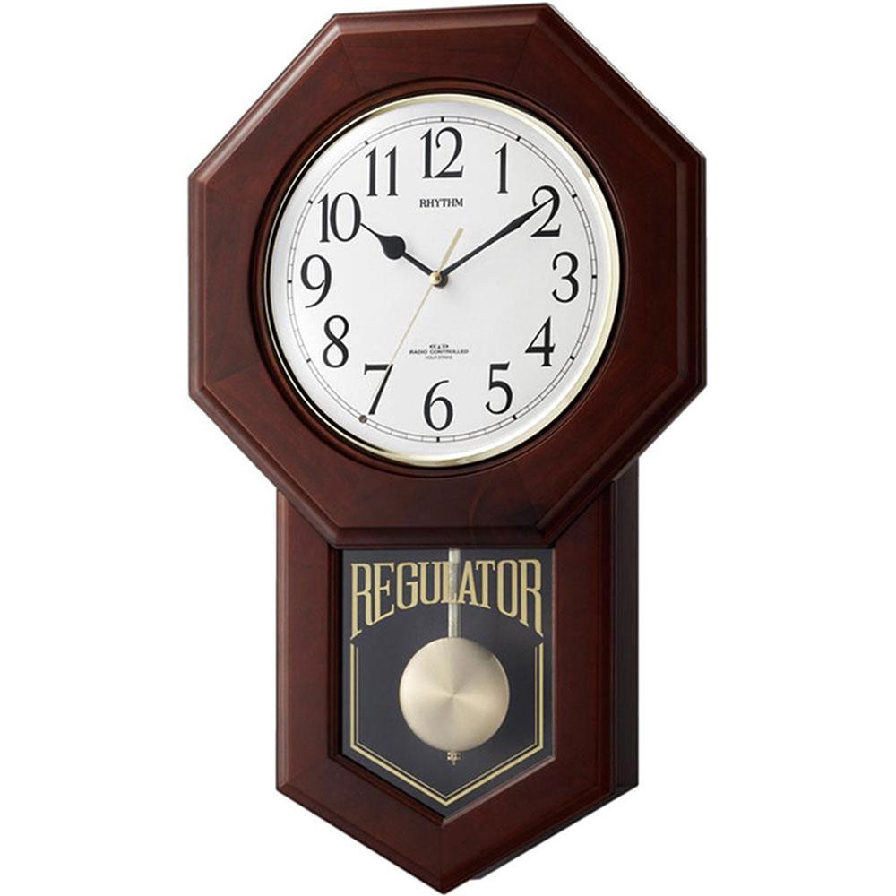 リズム時計 電波柱時計 シチズン モーランドR 新築祝い 竣工記念 開店祝い 開業祝い プレゼント