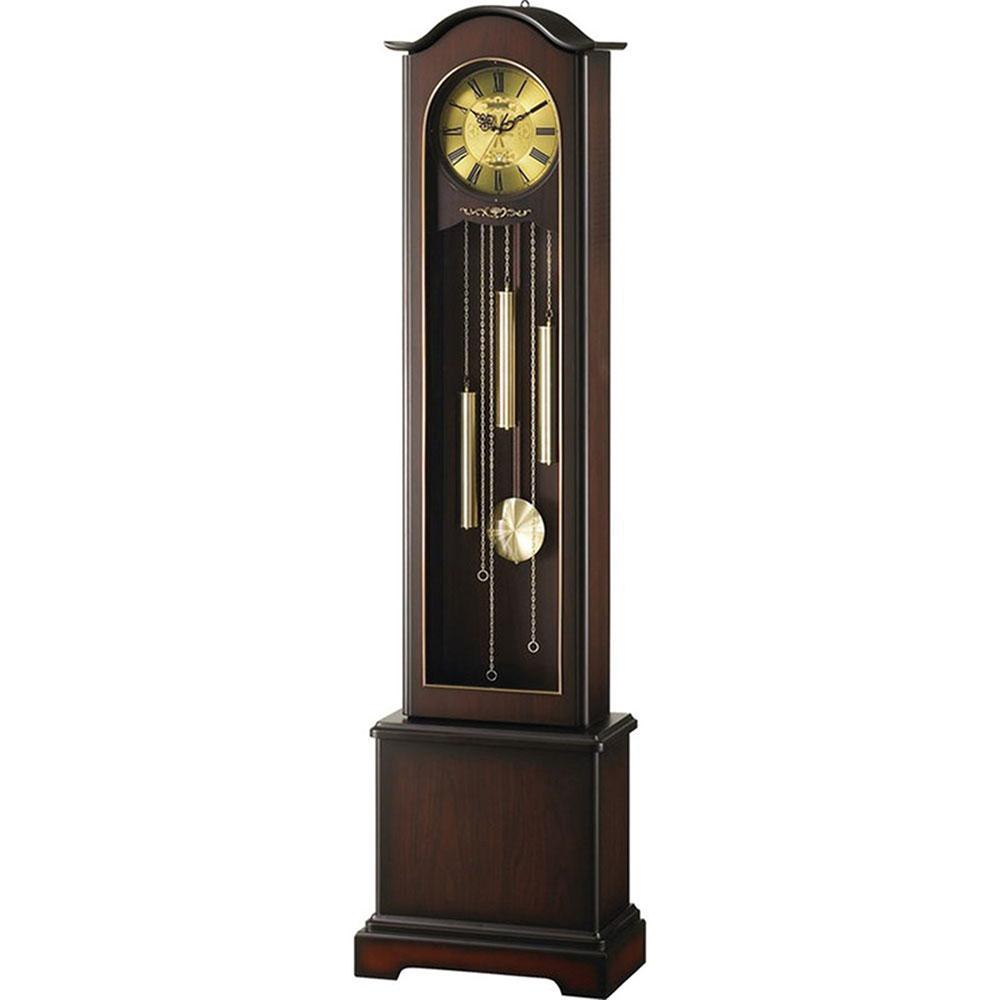 記念品 名入れ 振り子時計 HiARM-418R 送料無料 新築祝い 竣工記念 開店祝い 開業祝い プレゼント