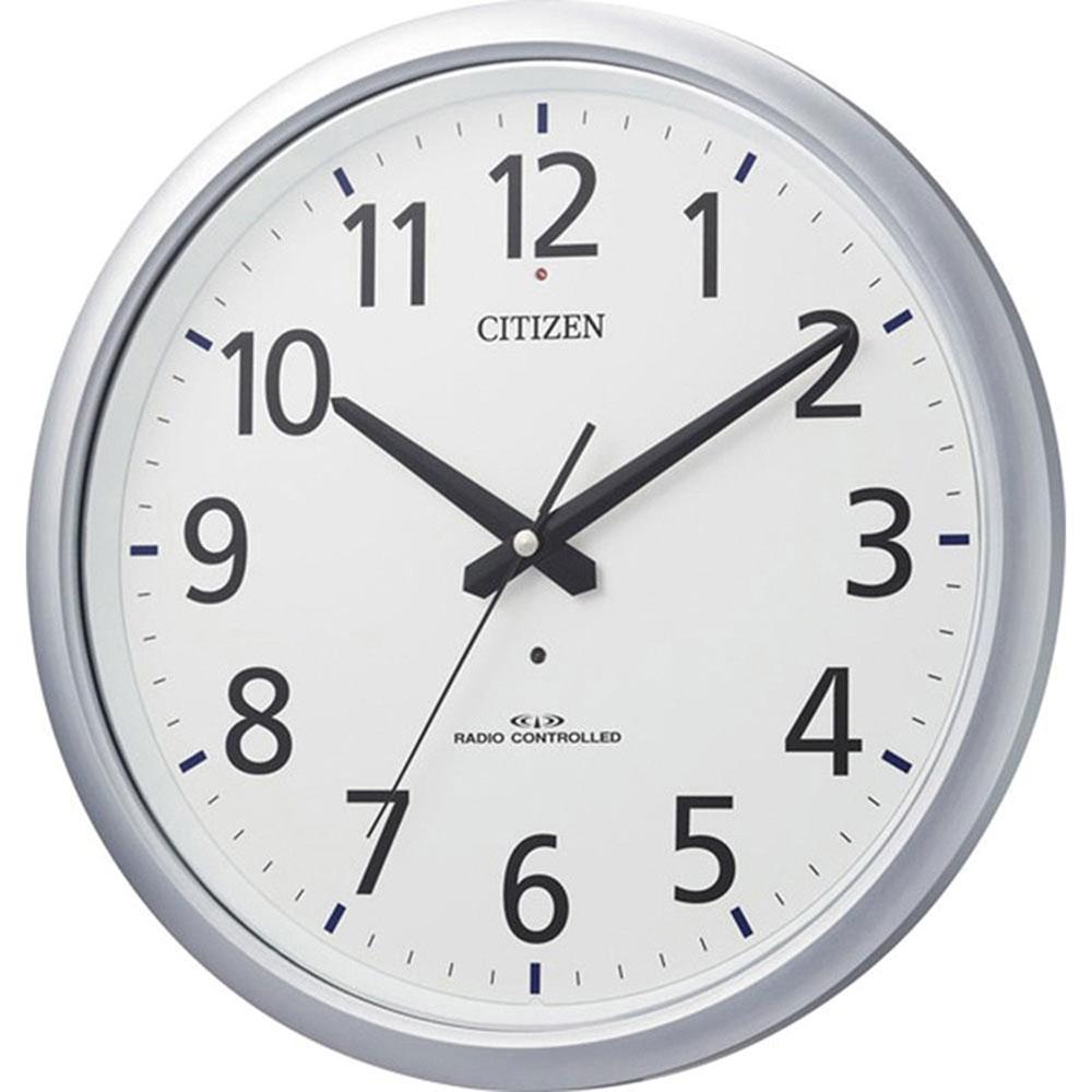 名入れ対応可 電波時計 掛け時計 | リズム時計 スペイシーアクア493 | 電波掛け時計 8MY493-019 | 掛け時計 | お祝い 竣工 設立 新生活 記念品 プレゼント