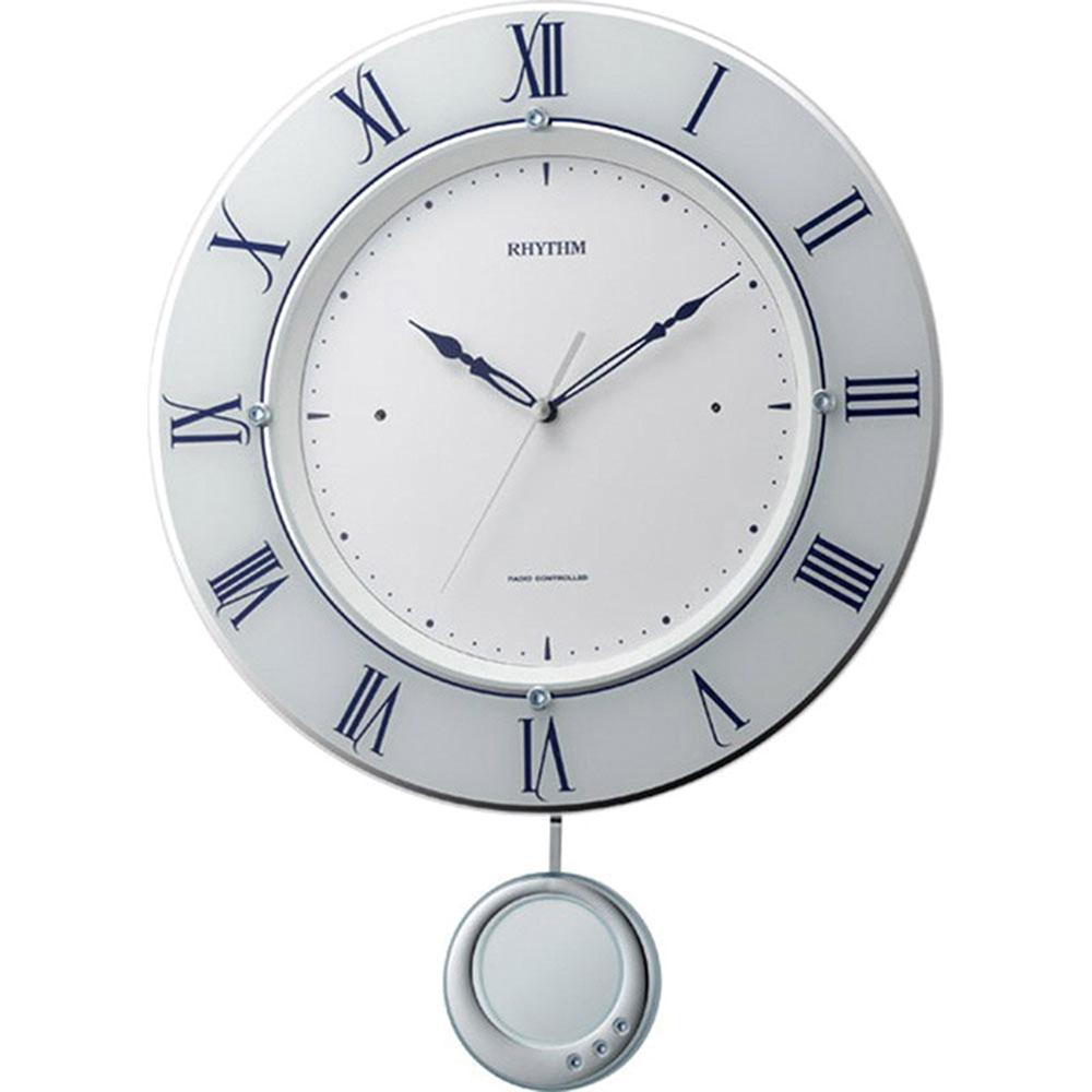 リズム時計 電波振子時計 シチズン トライメテオ 新築祝い 竣工記念 開店祝い 開業祝い プレゼント