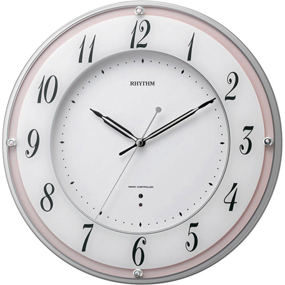 リズム時計 電波掛け時計 シチズン ミレディローズ 新築祝い 竣工記念 開店祝い 開業祝い プレゼント