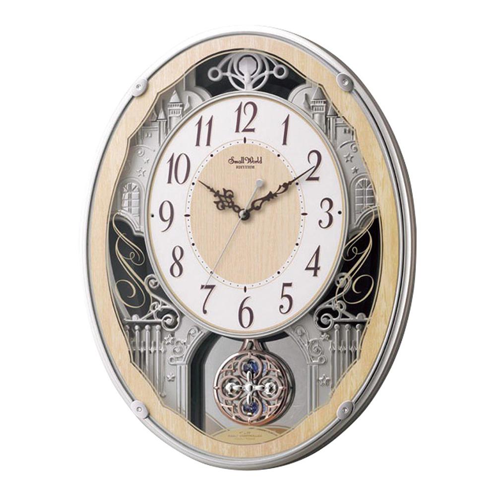 スモールワールド 電波掛け時計 クラッセ 新築祝い 竣工記念 開店祝い 開業祝い プレゼント