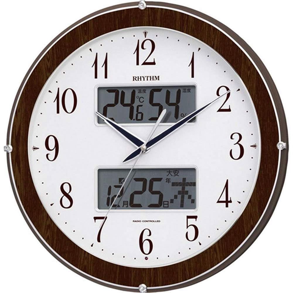 電波_掛け時計 ピュアカレンダー622 新築祝い 竣工記念 開店祝い 開業祝い プレゼント