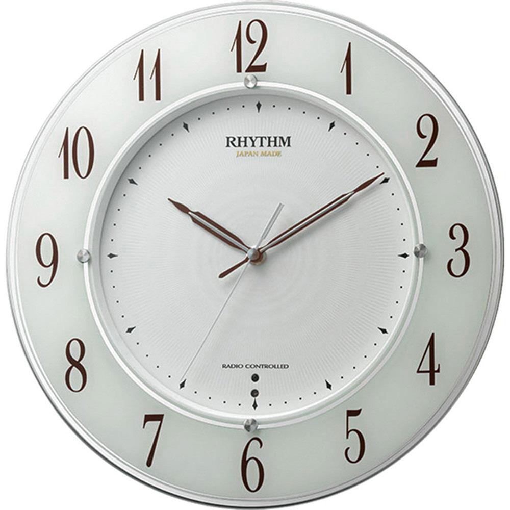 リズム時計 電波_掛け時計 シチズン スリーウェイブM847 新築祝い 竣工記念 開店祝い 開業祝い プレゼント