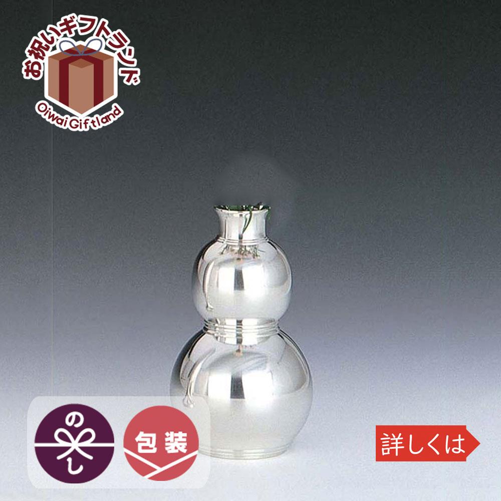 花瓶 室生瓢箪 錫器 日本製