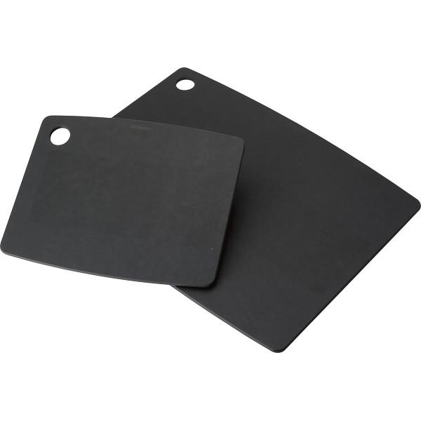 エピキュリアン 0723-059908 ブラック 【ギフト対応不可】 カッティングボード2枚セット