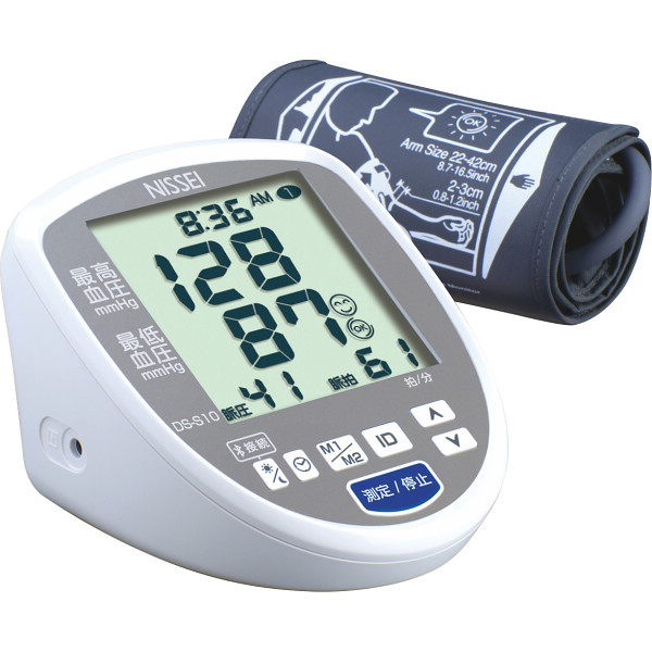 日本精密測器 上腕式デジタル血圧計  DS-S10
