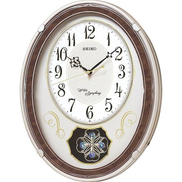 セイコー メロディ電波掛時計(18曲入)  AM259B