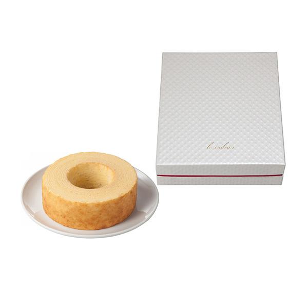 引菓子 引き出物 宅配 バウムクーヘン 新生活 送料無料でお届けします クリスタルボックス 引菓子番号:703