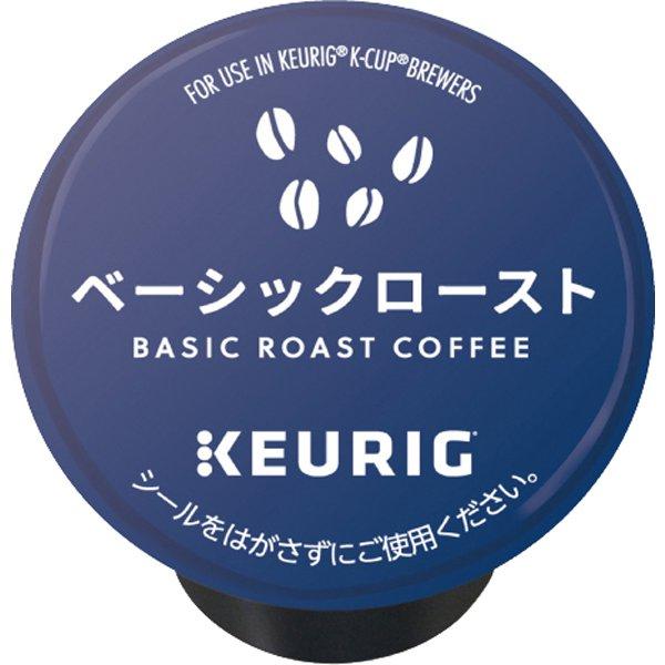 キューリグ 付与 k-cup 2020新作 コーヒーメーカー専用 ブリュースター Kカップ ベーシックロースト CS1881 ギフト対応不可 12個入