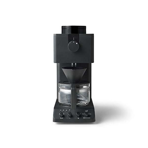 ツインバード 全自動コーヒーメーカー ブラックTWINBIRD CM-D457B 【送料無料】【ギフト対応不可】