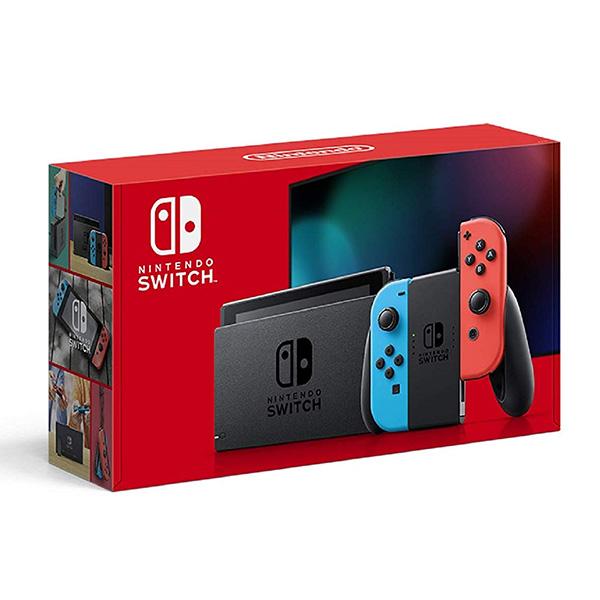Nintendo Switch 本体 任天堂 ニンテンドースイッチ Joy-Con(L) ネオンブルー(R)ネオンレッド バッテリー持続時間が長くなったモデル 4902370542912 【送料無料】