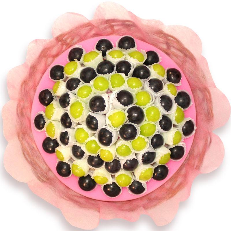 ぶどう ギフトにオススメ 送料無料 お花畑のように可愛らしいぶどうのギフトセット ギフトパーク ギフトセット