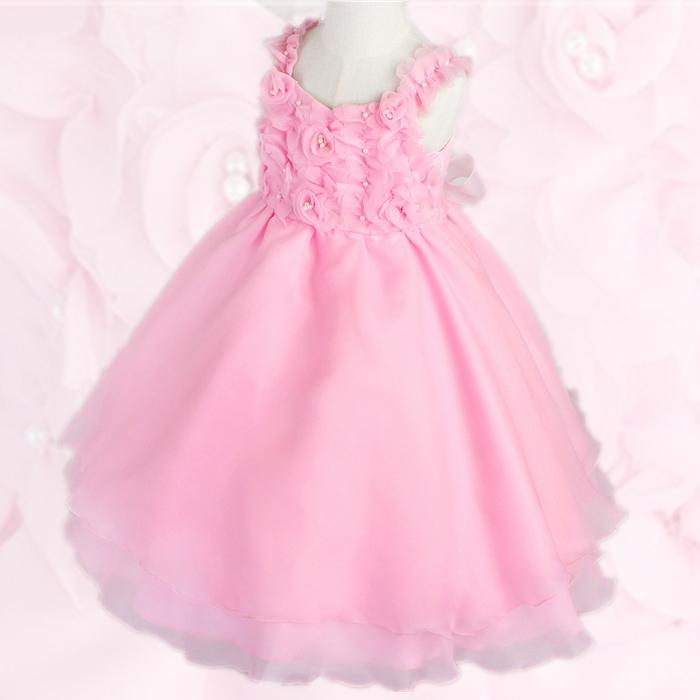 湘南DRESS|ブランド:DressNotes|キッズフォーマル 子供ドレス アイベル2 ピンク dn02_pink