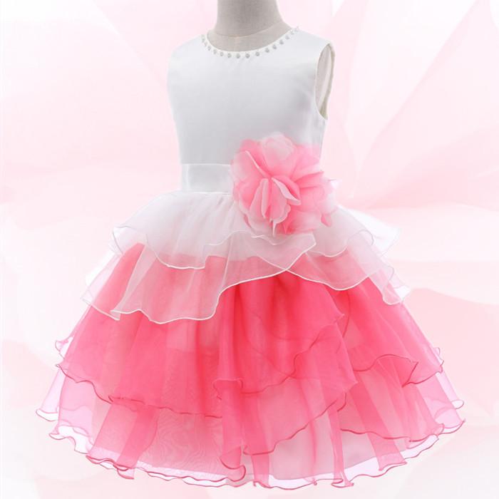 湘南DRESS ブランド:DressNotes キッズフォーマル ミドル丈 子供ドレス F52067 フーシャピンク
