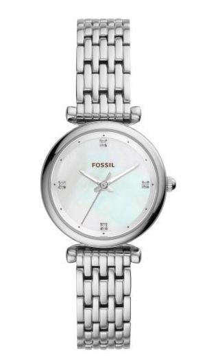 ☆FOSSIL[フォッシル] es4430CARLIE MINI SILVER Stainless シルバー ステンレス アナログ レディース 腕時計