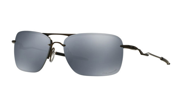 [日本未入荷] OAKLEY オークリー oo4109-01 Polarized Tailback Pewter Aviator W/ Black Iridium Sunglasses 偏光 サングラス