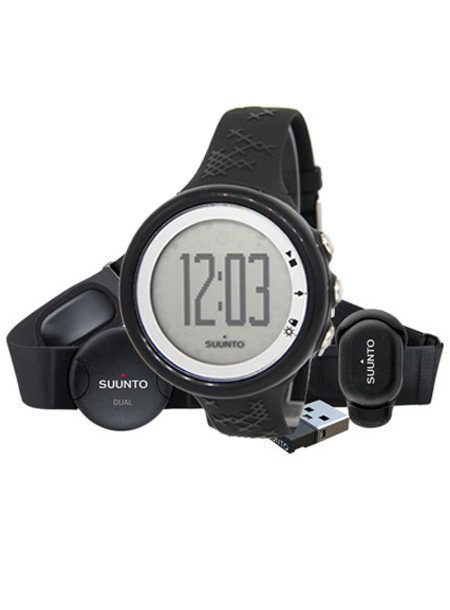SUUNTO[スント] NO.ss016649000 M5 BLACK/SILVER RUNNING PACK M5 ランニング パック