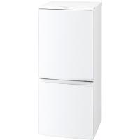 SHARP(シャープ) SJ-D14A-W [冷蔵庫 (137L・つけかえどっちもドア) 2ドア ホワイト系]