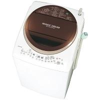 TOSHIBA 東芝 AW-8V3M-T たて型洗濯乾燥機 8.0kg マジックドラム ブラウン 返品OK 出産内祝 クリスマス 七五三 特典
