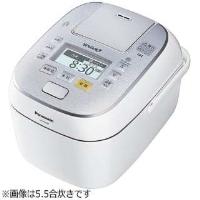 Panasonic(パナソニック) SR-SPX187-W 可変圧力スチームIH炊飯ジャー 「Wおどり炊き」(1升) スノークリスタルホワイト