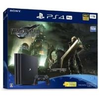 SCEI(ソニー・コンピュータエンタテインメント) CUHJ-10036 PlayStation 4 Pro FINAL FANTASY(ファイナルファンタジー) VII REMAKE Pack [ゲーム機本体]