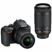 開店記念セール! Nikon(ニコン) D3500 ダブルズームキット デジタル一眼レフカメラ, 河内村 cfde086e