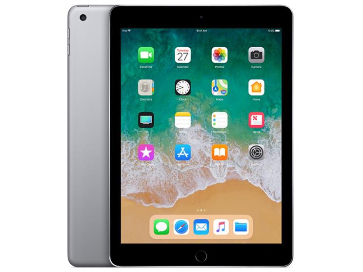 APPLE(アップル) MR7F2J/A iPad 9.7インチ Retinaディスプレイ Wi-Fiモデル (32GB・スペースグレイ) [32GB] (2018)【kk9n0d18p】