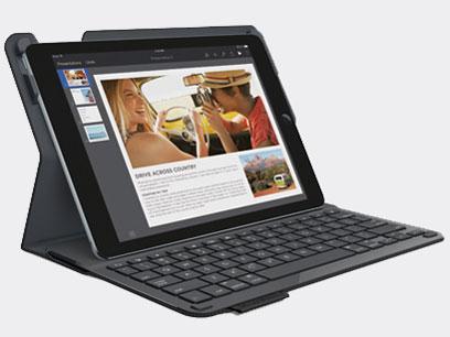 Logicool(ロジクール) iK1051BK iPad Air 2用 キーボード一体型保護ケース ブラック