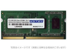 アドテック Apple iMac用増設メモリ Mac対応 DDR3L-1866 SO-DIMM 8GB ADTEC ADM14900N-L8G【パソコン パーツ メモリー メモリ増設 DDR3 SDRAM DDR3L-1866(PC3L-14900) SO-DIMM】